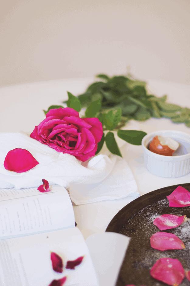 How To Make Sugared Rose Petals