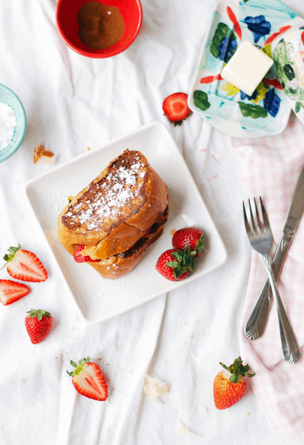 The Best Stuffed French Toast