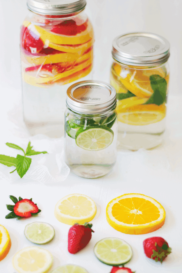 3 Infused Water Recipes to Refresh and Hydrate | healthy water recipes, fruit infused water recipes, fruit infused waters, how to make fruit infused water, recipes using fresh fruit, fresh fruit drink recipes, fresh fruit water recipes, healthy water recipes || The Butter Half via @thebutterhalf