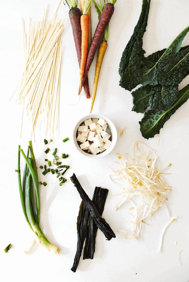 Barley Miso Udon Noodle Soup Recipe Homemade Soup Recipes Noodle Soup Recipes Healthy