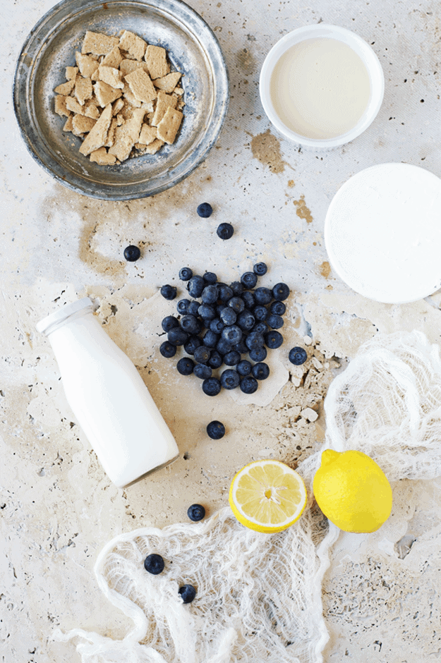 No-Churn Blueberry Mascarpone Ice Cream | The Butter Half