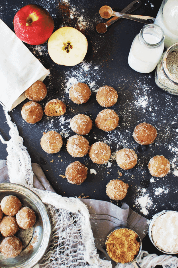 How to Make Baked Apple Cider Donut Holes