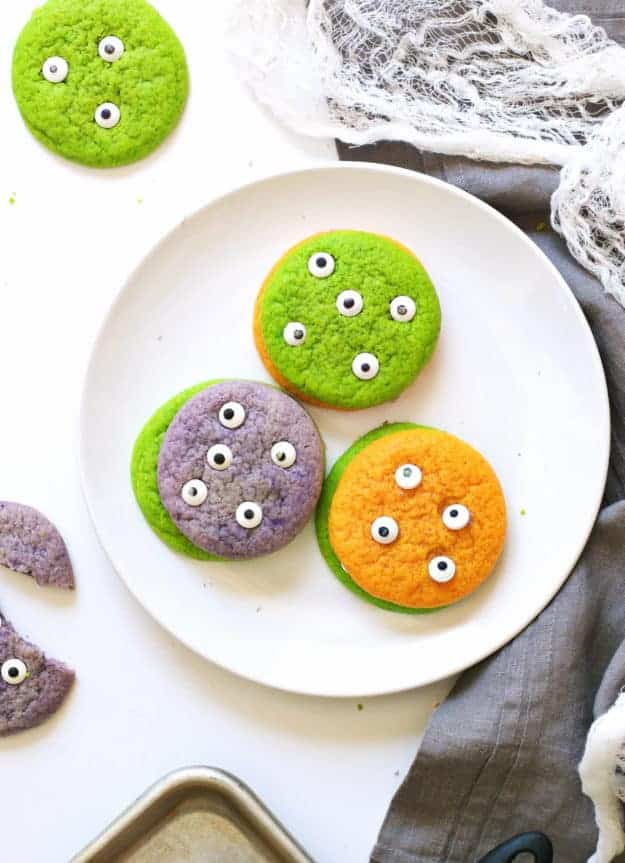 Halloween Sugar Cookie Monsters | The Butter Half