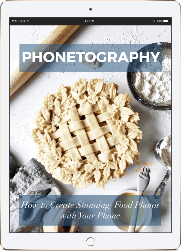Get Your Free Food Photography eBook!