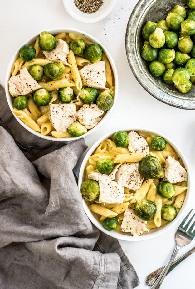 30-Minute Instant Pot Creamy Chicken Pasta