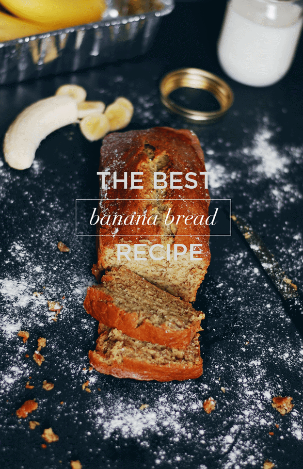 A Banana Bread Recipe To Go Bananas Over | homemade banana bread | how to make banana bread | the best banana bread recipe | easy banana bread recipes | banana bread recipe ideas | quick bread recipes | sweet bread recipes | homemade bread recipes || The Butter Half #bestbananabread #homemadebananabread #easybananabread #thebutterhalf