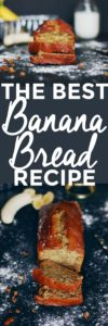 A Banana Bread Recipe To Go Bananas Over | homemade banana bread | how to make banana bread | the best banana bread recipe | easy banana bread recipes | banana bread recipe ideas | quick bread recipes | sweet bread recipes | homemade bread recipes || The Butter Half via @thebutterhalf