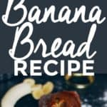 A Banana Bread Recipe To Go Bananas Over | homemade banana bread | how to make banana bread | the best banana bread recipe | easy banana bread recipes | banana bread recipe ideas | quick bread recipes | sweet bread recipes | homemade bread recipes || The Butter Half via @thebutterhalf