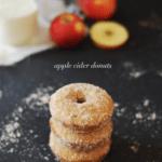 Baked Apple Cider Donuts | homemade donut recipes, fall themed donut recipes, fall donut recipes, fall dessert recipes, dessert recipes for fall, apple flavored donuts, how to make homemade donuts, easy donut recipes, recipes using apple cider || The Butter Half via @thebutterhalf