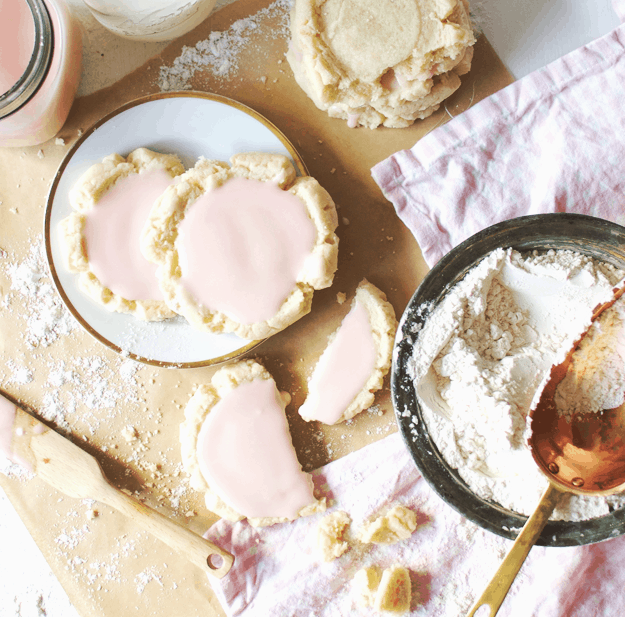 The Best Copycat Swig Sugar Cookies | swig sugar cookies, swig cookies, how to make swig cookies, swig sugar cookie recipes, swig sugar cookies | The Butter Half