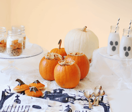 Make A Spooky Halloween Boo-fast | fun halloween ideas, halloween ideas for kids, kid-friendly halloween ideas, halloween breakfast ideas, halloween fun for kids, breakfast ideas for halloween || The Butter Half via @thebutterhalf