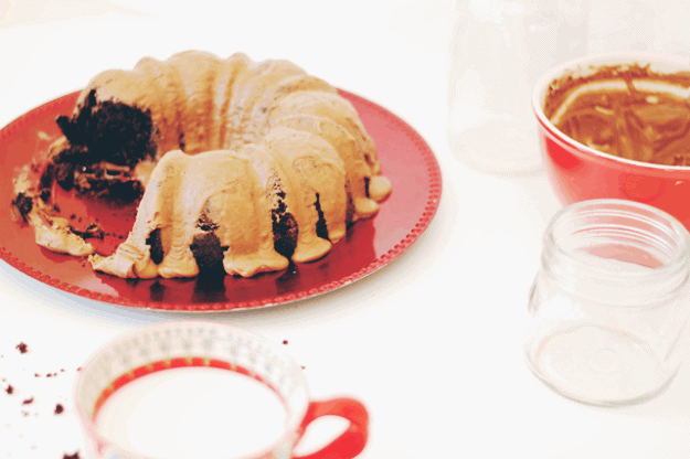 Spiced Chocolate Bundt Cake | homemade chocolate cake recipes, homemade bundt cakes, how to make a spiced chocolate cake, spiced dessert recipes, chocolate dessert recipes, easy dessert recipes, homemade dessert recipes || The Butter Half via @thebutterhalf