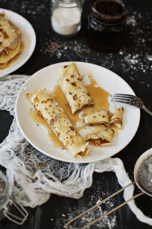 16e3b573fc5 The Best Crepe Recipe With Homemade Lavender Maple Syrup