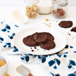 Gluten-Free Nutella And Peanut Butter Cookies | The Butter Half