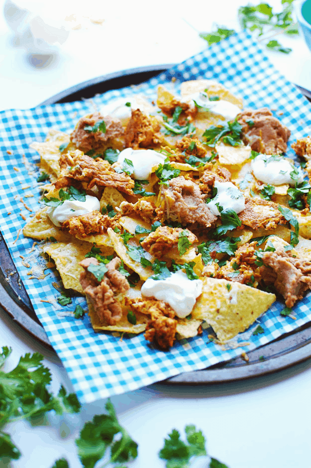 Chorizo and Eggs Breakfast Nachos | Breakfast Recipes, Chorizo and Eggs, Breakfast Nachos, Breakfast Nachos Recipe, Mexican Breakfast Nachos #breakfastnachos #chorizoandeggs #mexicanbreakfastnachos || The Butter Half via @thebutterhalf