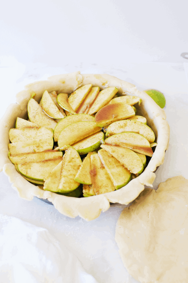 The Perfect Apple Pie Recipe | homemade apple pie recipes, easy apple pie recipes, how to make an apple pie, from scratch apple pie recipe, fall pie recipes, easy pie recipes, apple dessert recipes, homemade dessert recipes #homemadeapplepie #applepierecipes #pierecipe #thebutterhalf || The Butter Half