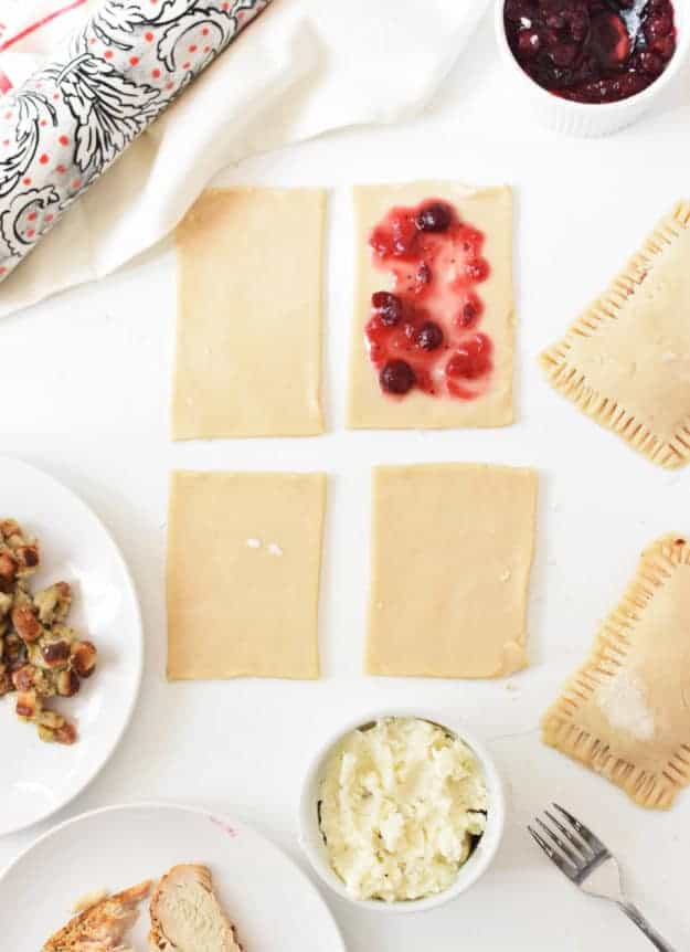How to Make Thanksgiving Leftover Pop Tarts | thanksgiving leftover recipes, pop tart recipe ideas, thanksgiving recipes, how to use thanksgiving leftovers, recipes using thanksgiving leftovers || The Butter Half #thanksgivingleftovers #thanksgiving #leftovers #thebutterhalf