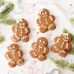 Gingerbread Cookie Ice Cream Sandwiches | The Butter Half