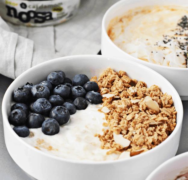 3-Ingredient Yogurt Breakfast Bowls 3 Ways   @thebutterhalf