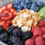 Salted Coconut Over Fruit | The Butter Half