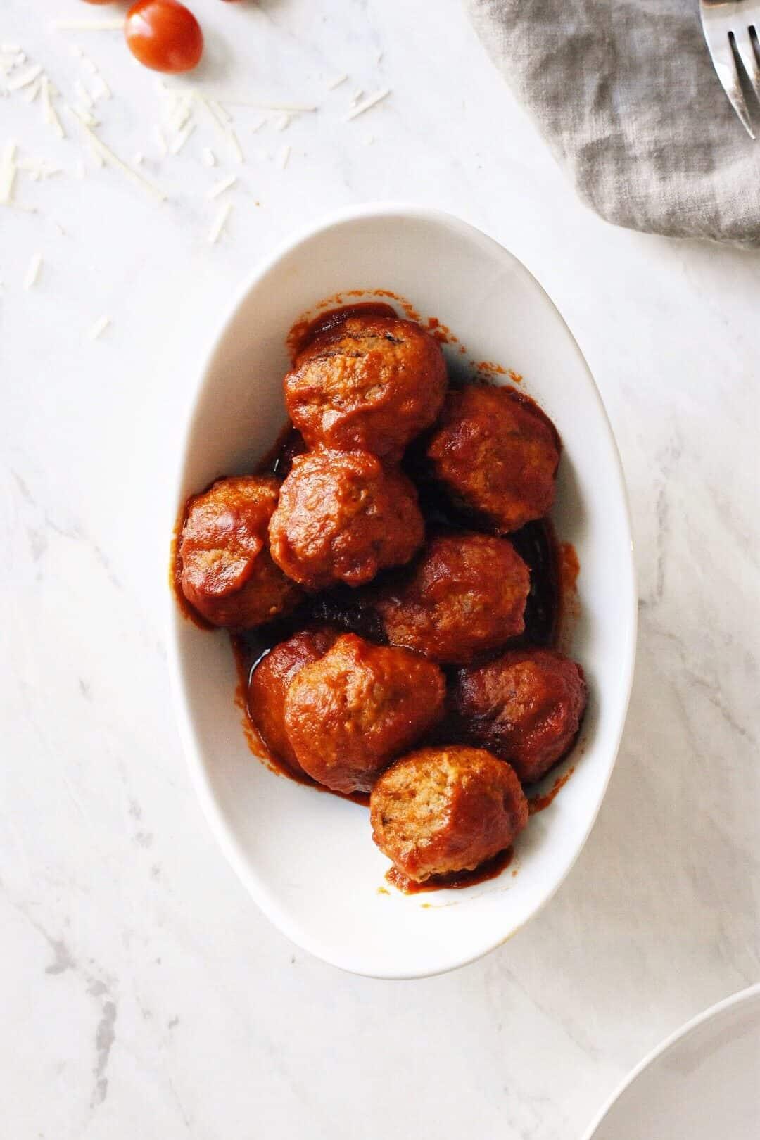 15 Minute Instant Pot Italian Meatballs