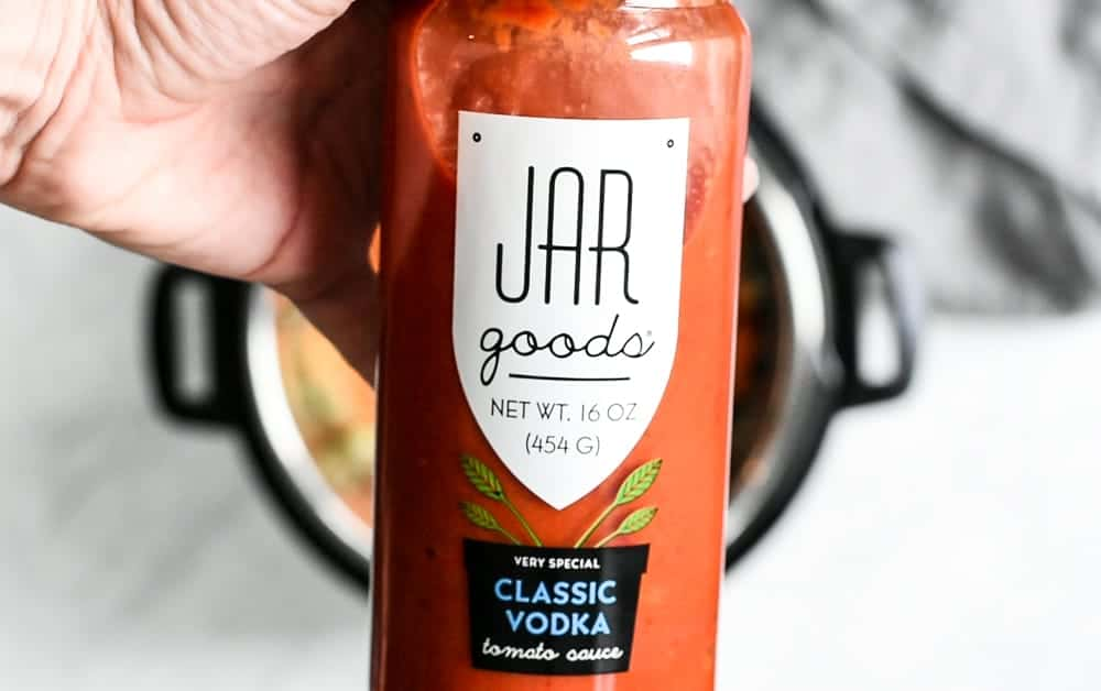 Jar of Jar Goods classic vodka tomato sauce