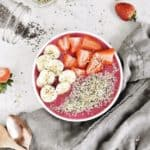 Metabolism-Boosting Strawberry Smoothie Bowl Recipe