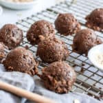 No-Bake Lactation Cookies with Fenugreek (Vegan + Gluten-Free)