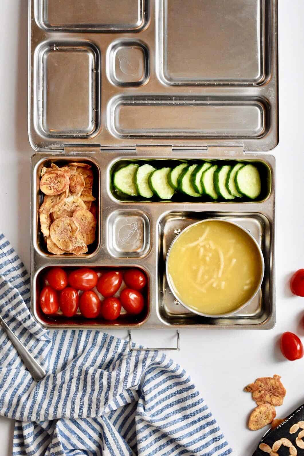 3 healthy kid lunch box ideas the butter half. Black Bedroom Furniture Sets. Home Design Ideas