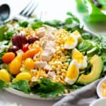 5-Minute Rotisserie Chicken Cobb Salad Recipe (Gluten-Free)