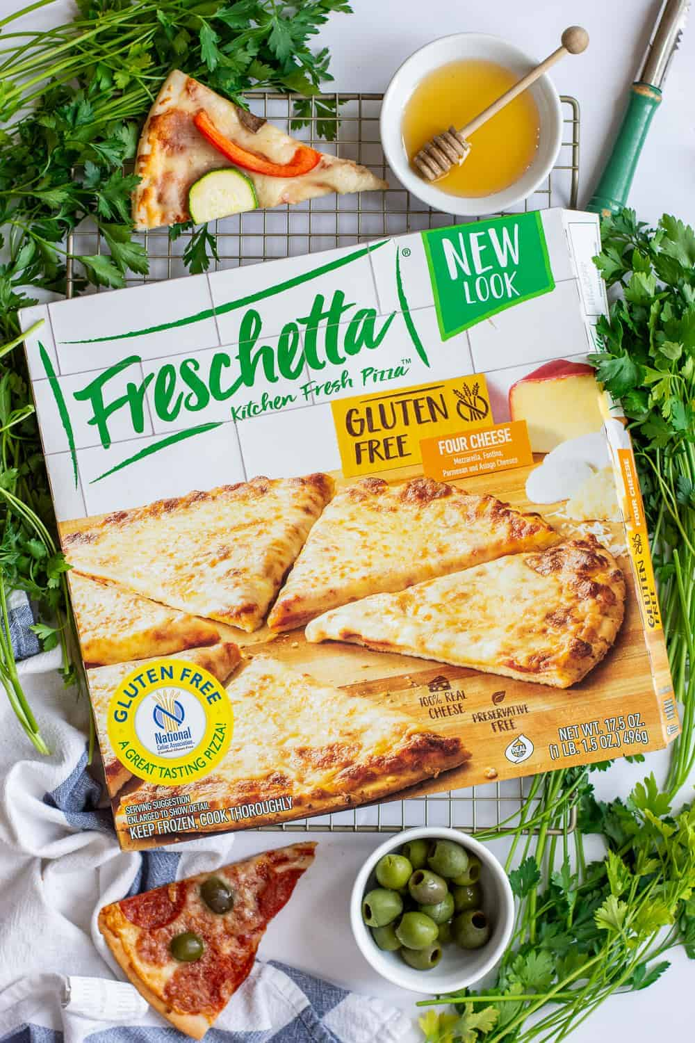 Best Gluten Free Frozen Pizza 3 Ways | Gluten Free Frozen Pizza, Gluten Free Pizza, Family Pizza Night, Gluten Free Pizza 3 Ways, Freschetta Gluten Free Pizza #glutenfreepizza #glutenfreefrozenpizza #freschettaglutenfreepizza || The Butter Half via @thebutterhalf